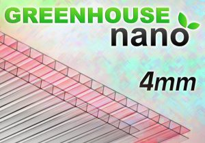 Polikarbonāts 'GREENHOUSE' NANO 4mm